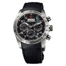 Replica Tudor Fastrider Chronograph Black Leather Black Arabic 42000