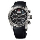 Replica Tudor Fastrider Chronograph Black Leather Black Index 42000