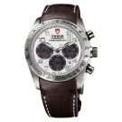 Replica Tudor Fastrider Chronograph Brown Leather White 42000