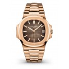 Fake Patek Philippe Nautilus Rose Gold Watch 5711/1R-001