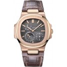 Replica Patek Philippe Nautilus Rose Gold Power Reserve Moonphase 5712R-001