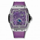 fake Hublot Spirit Of Big Bang Moonphase Titanium Purple 42mm