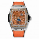 fake Hublot Spirit Of Big Bang Moonphase Titanium Orange 42mm