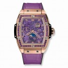 Hublot Spirit Of Big Bang Moonphase King Gold Purple 42mm fake