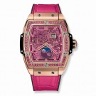 fake Hublot Spirit Of Big Bang Moonphase King Gold Pink 42mm