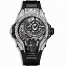 fake Hublot MP-09 Tourbillon Bi-Axis Titanium Pavé