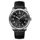 Breitling Navitimer 8 Automatic Black Dial Leather Strap Watch fake