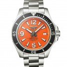Replica Breitling Superocean II 42 Steel Orange A17366D71O1A1