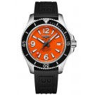 Replica Breitling Superocean II 42 Steel Orange Dial A17366d71o1s1