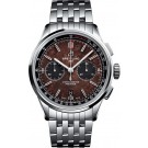 Replica Breitling Premier B01 Chronograph 42 Bentley Centenary Stainless Steel/Wood/Calf/Bracelet