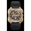 Bell & Ross BR-X1 TOURBILLON ROSE GOLD DIAMONDS Replica watch