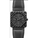 Fake Bell & Ross Aviation BR 01-92 Carbon Fiber Phantom Mens Watch