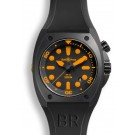 Replica Bell & Ross Marine BR 02-92 Orange Carbon Watch