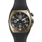 Replica Bell & Ross Marine Automatic Mens Watch BR 02-92 Pink Gold and Carbon
