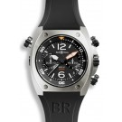 Replica Bell & Ross Marine Chronograph Mens Watch BR 02-94 Steel