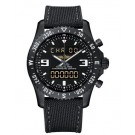 Breitling Chronospace Military Blacksteel Watch fake