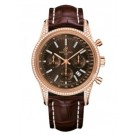 Breitling Transocean Chronograph Rose Gold Watch fake