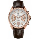TAG Heuer Grand Carrera Calibre 17 Rose Gold Chronograph Replica CAV514B.FC8171