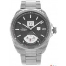 TAG Heuer Grand Carrera Grande Date GMT Grey Dial Replica Watch WAV511K.BA0901