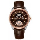 TAG Heuer Grand Carrera Grande Date Steel and Rose Gold Replica Watch WAV5153.FC6231