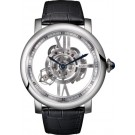 fake Rotonde de Cartier Astrotourbillon skeleton watch W1556250
