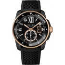 fake Calibre de Cartier Carbon Diver watch W2CA0004