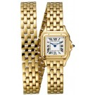 Cheap AAA Replica Cartier Panthere de Cartier Double Bracelet WGPN0013