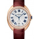 fake Cartier Cle de Cartier Automatic 40mm Midsize Watch WJCL0012