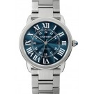 Best Cartier Ronde Solo Blue Dial Automatic Men's WSRN0023 Replica Watch sale