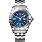 Replica Breitling Galactic 41 Blue Dial Steel Mens Watch A49350L2/C806 366A
