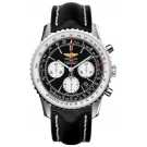 Replica Breitling Navitimer 01 Black Mens Chronograph Watch AB012012/BB01435X