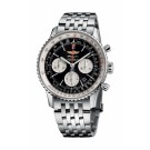 Replica Breitling Navitimer 01 Chronograph Mens Watch Black AB012012/BB01