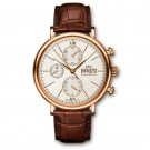 Replica l IWC Portofino Chronograph Rose Gold Automatic Mens Watch IW391020
