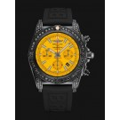 Breitling Chronomat 44 Blacksteel Yellow MB0111AV/I532/262S/M20DSA/2 clone Watch