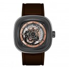 Replica SevenFriday P2-1 Stainless Steel / Grey PVD