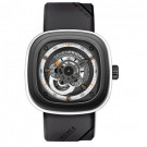 Replica SevenFriday P3-3 Stainless Steel / Grey PVD / White