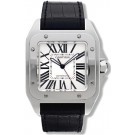 Replica Cartier Santos 100 Large Automatic Stainless Steel Watch W20073X8